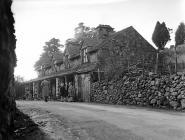 The village of Llanfachreth in darkness...
