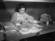 Employee of the Prestonitt Jewel factory,...