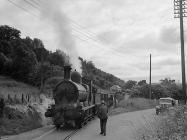 The last goods train to use the Llangynog...