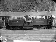 Little Wonder engine, Ffestiniog railway, c. 1875
