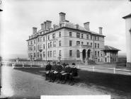 Hotel in Y Borth, c. 1885