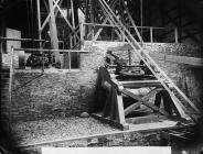 The crushing shed, Dolau Cothi gold mines, c. 1885