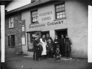 Roderick Evans, Dispensing Chemist, Llanybydder...