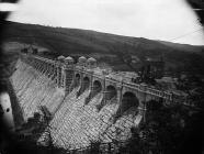 Building the Lake Vyrnwy dam, Llanwddyn, c. 1885