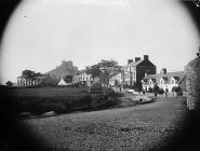 The town and castle, Criccieth, c. 1885