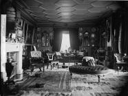 The drawing room, Castell Deudraeth,...