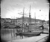 Ships in the harbour, Porthmadog, c. 1875