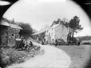 Rhyd-y-gwystl woollen factory, Y Ffor, 1896