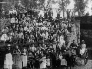 Hay workers, Flos Land, c. 1885