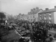 Llanfyllin fair, c. 1885