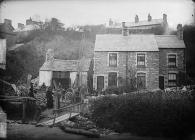 Joiner's shop, Colwyn Bay, c. 1885