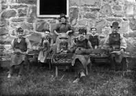 Cryddion, Trawsfynydd, tua'r flwyddyn 1885