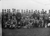 Gwersyll y Gwirfoddolwyr, Trawsfynydd, 1890