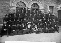 Conwy Wesleyan Choir, c. 1885