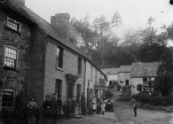 The Plough Inn, Llanrhaeadr-ym-Mochnant, c. 1885