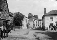 Corner shop, Llanrhaeadr-ym-Mochnant, c. 1885
