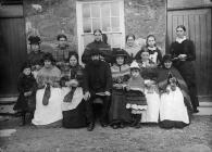 The ladies' club, Garndolbenmaen, c. 1885