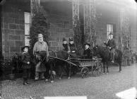 Edwards family, Nanhoron, Botwnnog, 1886