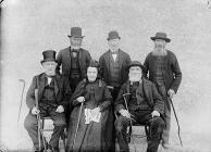 Old inhabitants, Llansanffraidd Glynceiriog, 1895