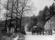 Cwmbelan View, Llangurig, c. 1885