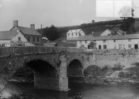 The first secondary school, Llanfair Caereinion...