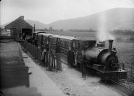 Corris railway, c. 1885