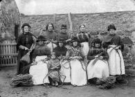Morass workers, Aberffraw, c. 1885