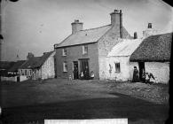 Tailor's shop, Aberffraw, c. 1875
