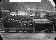 Little Giant locomotive engine, Ffestiniog...