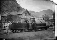 Welsh Pony locomotive engine, Ffestiniog...