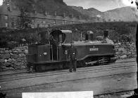 Taliesin engine, Ffestiniog railway, c. 1875