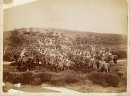 Constabulary and lancers in Denbighshire during...