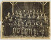 Female munitions workers at Queensferry, c.1915