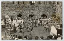 Floral dance, Caernarfon National Eisteddfod, 1959