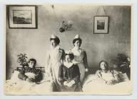 Native American patients at Llandudno Cottage...