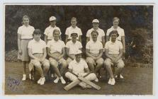 1st XI cricket team, Lowther College,...