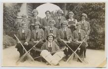 1st XI lacrosse team, Lowther College,...
