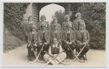 1st XI hockey team, Lowther College,...