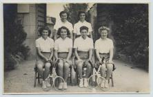 1st VI tennis team, Lowther College,...
