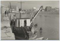 The dredger Seiont II at Caernarfon