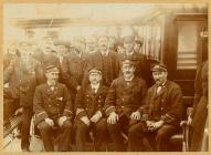 The crew of the paddle-steamer 'Snowdon&...