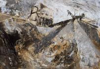 'Granite Quarry, Penmaenmawr' by...