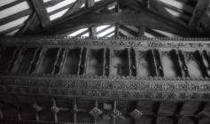 Rood screen, Llanegryn Church