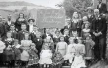 Llandecwyn 'Revolt' School, c. 1906