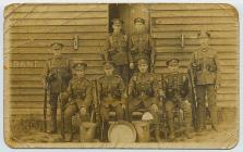 Group of soldiers in army uniform, c.1914-1918
