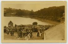 Peace Day Meeting, Menai Bridge, 19 July 1919