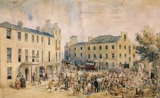 'A Market Day in Bangor' by J. J....