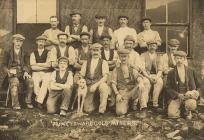 Group of gold miners from the Prince Edward...