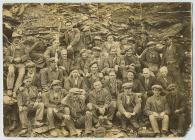 Rhiwbach quarrymen, Cwm Penmachno