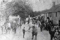 Fair day at Pentraeth, c. 1877